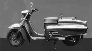 平野製作所 ポップ125 1955 年