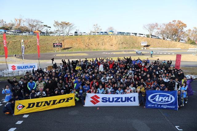 画像1: 世界耐久チャンピオンとミニバイクレースを楽しもう!