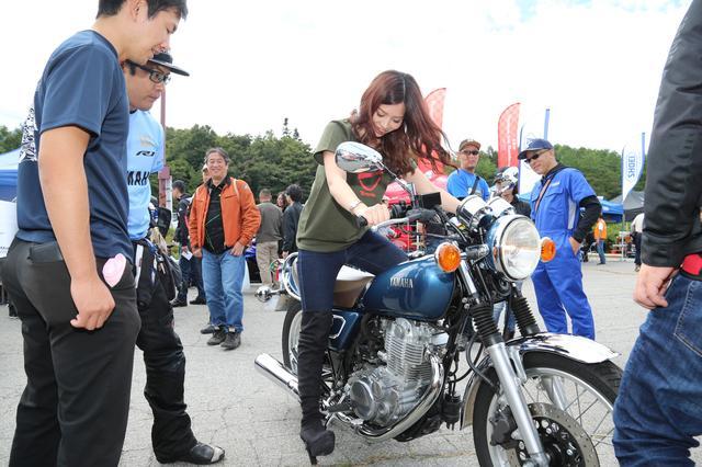 画像2: 初めてのSR400キックスタートも体験!「YAMAHA Motorcycle Day 2019」に初参加してきました!(須藤セリナ)
