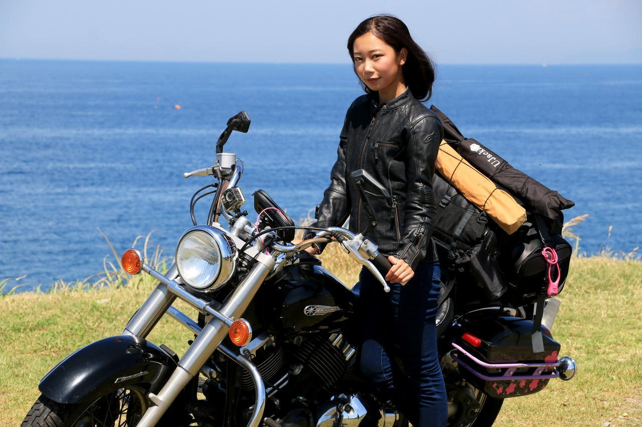 画像1: キャンプツーリングの荷物をバイクにどう積むか?〈オートバイキャンプ部〉のパッキングスタイル紹介!【編集部員の夏休み③】 - webオートバイ