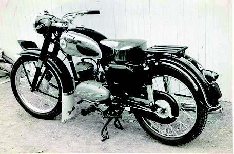 Images : カワサキ メイハツ125デラックス 1956 年