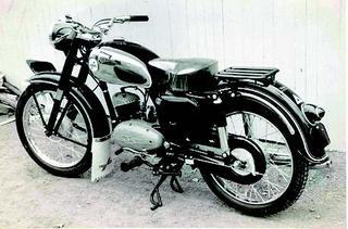 カワサキ メイハツ125デラックス 1956 年