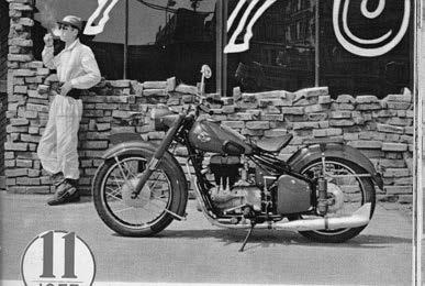 Images : 陸王モーターサイクル 陸王F 1956 年