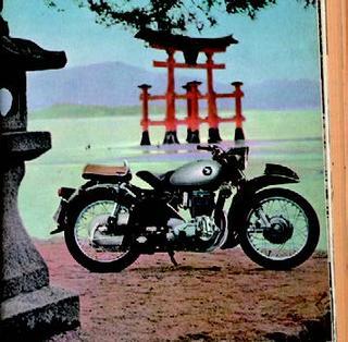 ホンダ ドリームMF 1957年11月