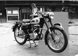 片倉自転車 片倉オート200 1956 年