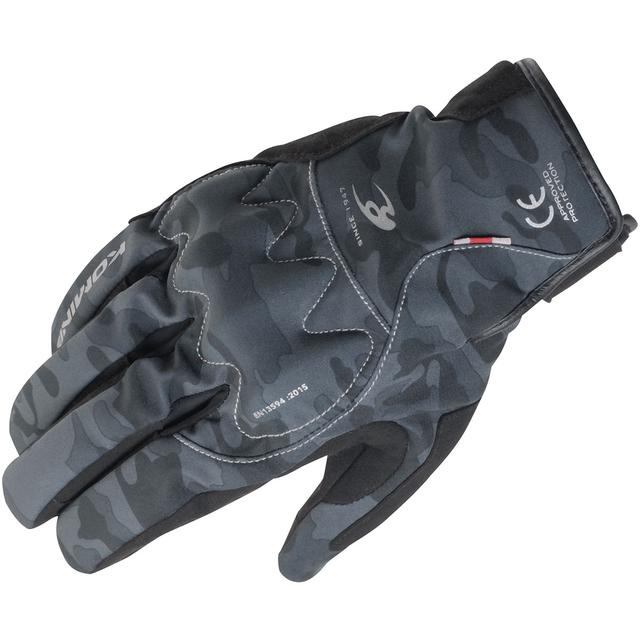 画像: GK-829 AIR GEL Protect Short W-Gloves|コミネ(komine)