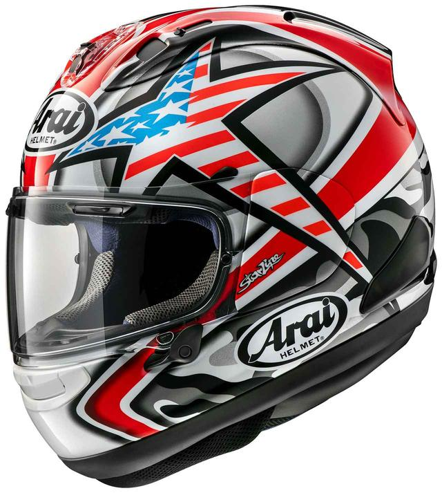 画像: アライヘルメット「RX-7X」に伝説のライダー、ニッキー・ヘイデンのレプリカモデル〈ヘイデン・ラグナ〉が登場! - webオートバイ
