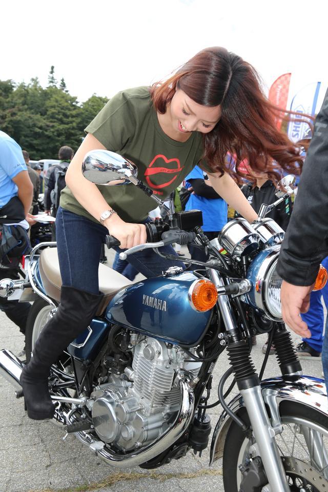 画像3: 初めてのSR400キックスタートも体験!「YAMAHA Motorcycle Day 2019」に初参加してきました!(須藤セリナ)