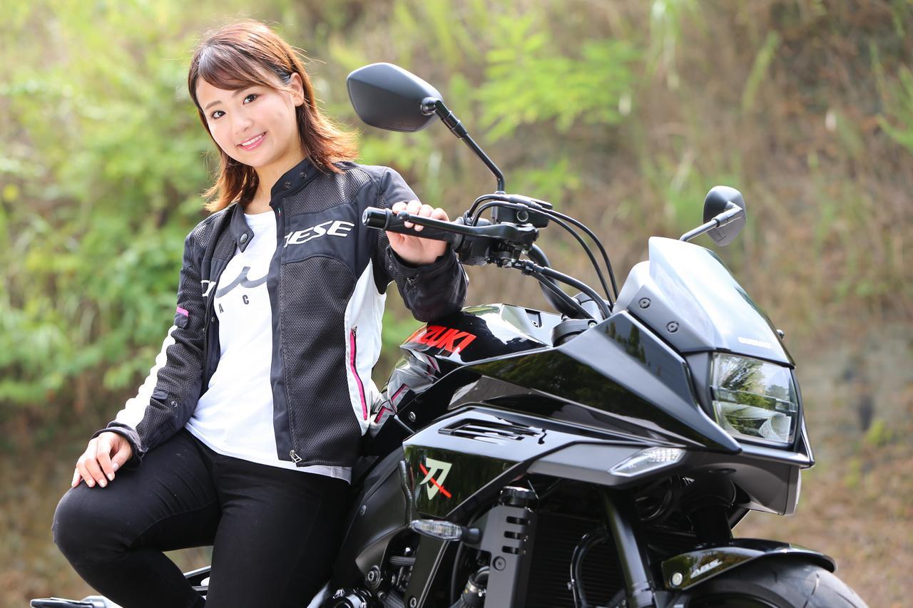 Images : 7番目の画像 - 「平嶋夏海の「つま先メモリアル」(第5回:Suzuki KATANA)【ゆるふわ 3枚刃】」のアルバム - webオートバイ