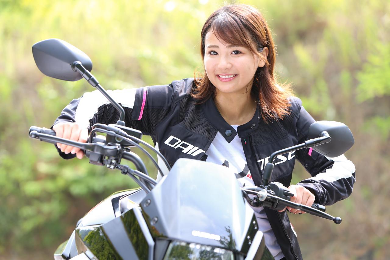Images : 8番目の画像 - 「平嶋夏海の「つま先メモリアル」(第5回:Suzuki KATANA)【ゆるふわ 3枚刃】」のアルバム - webオートバイ