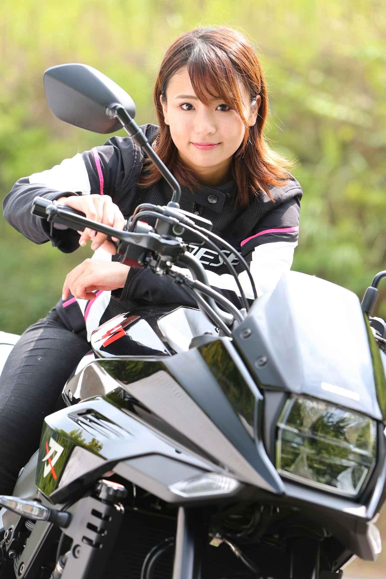 Images : 6番目の画像 - 「平嶋夏海の「つま先メモリアル」(第5回:Suzuki KATANA)【ゆるふわ 3枚刃】」のアルバム - webオートバイ