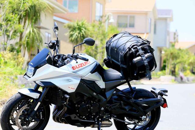画像: [AD]  KATANAにも積んでみた! タナックスの「キャンピングシートバッグ2」を使えばバイクのキャンプ旅は〈簡単・快適〉に激変する! - webオートバイ