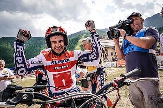 画像1: FIMトライアル世界選手権 TrialGPクラス トニー・ボウ選手のコメント