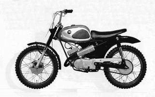 ブリヂストン ブリヂストン90スクランブラー 1965 年