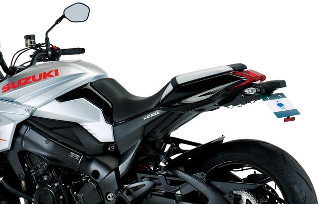 画像: プロトから「KATANA」のフェンダーレス・キットが登場! ノーマルモデルと見比べてみよう! - webオートバイ
