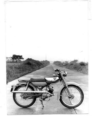 東京発動機 トーハツランペットCA50 1963 年