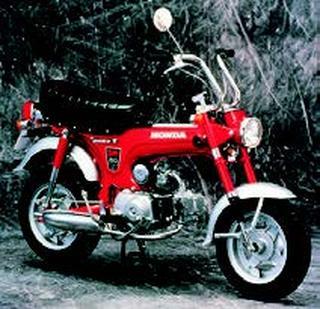 ホンダ ダックスホンダST50 1969 年 8月
