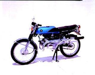 スズキ ウルフT125 1969 年 5月