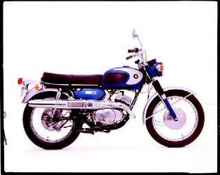 スズキ TC250 1967年2月