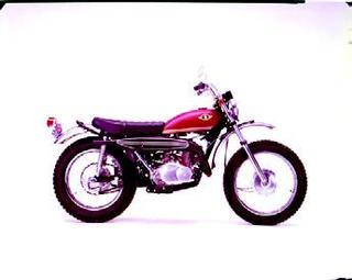 スズキ ハスラーTS250 1968 年 9月