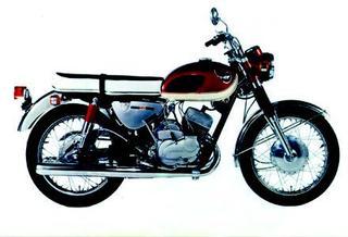 カワサキ 250A1 1966 年 8月