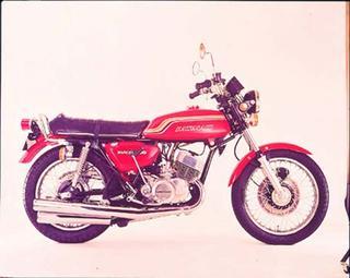 カワサキ 500SS マッハⅢ 1972 年1月