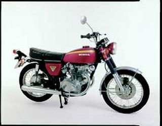 ホンダ ドリームCB450セニア 1970 年 8月