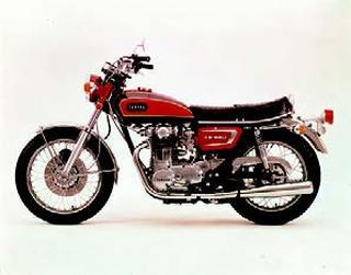 ヤマハ XS650E 1971年7月