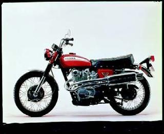 ホンダ ドリームCL450 1970 年 9月
