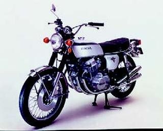 ホンダ CB750フォア[K2] 1972 年 4月