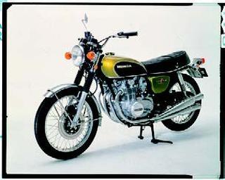 ホンダ ドリームCB500フォア 1971年 4月