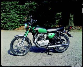ホンダ ドリームCB250エクスポート 1971年 3月