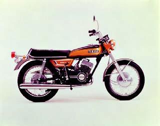 ヤマハ RX350 1971年 8月