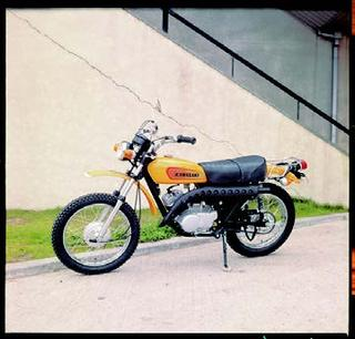 カワサキ 125TR 1970 年 8月