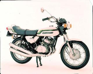 カワサキ 350SS マッハⅡ(SⅡ)1971年 3月