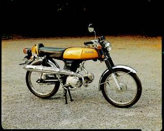ホンダ ベンリィSS50 1970 年 9月