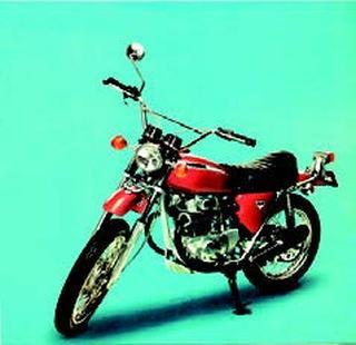 ホンダ ドリームSL350 1970 年10月