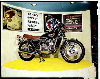 ヤマハ RZ201 1972 年(発表のみ)