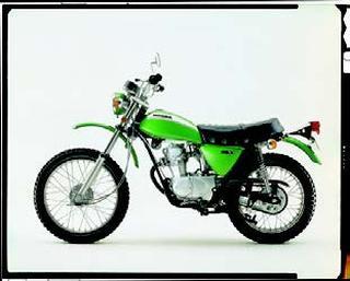 ホンダ SL90DX 1971年7月