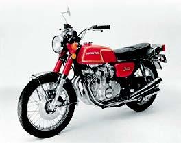 Images : ホンダ CB350フォア 1972 年 6月