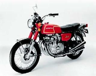 ホンダ CB350フォア 1972 年 6月
