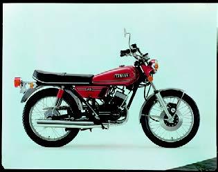 Images : ヤマハ RD125 1973 年12月