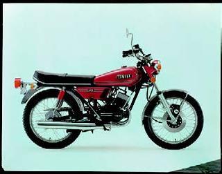 ヤマハ RD125 1973 年12月