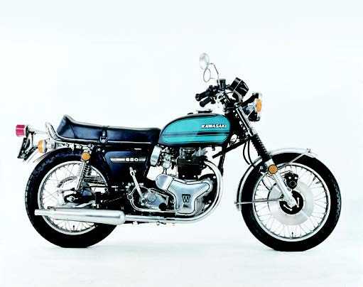 Images : カワサキ 650RS W3 1973 年2月