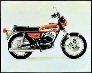 ヤマハ RD250 1973 年1月