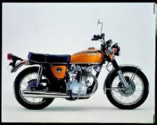 ホンダ ドリームCB450セニア 1972 年12月