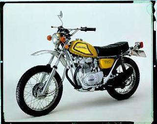 ホンダ ドリームSL350K2 1972 年7月