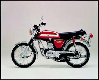 Images : スズキ GA50 1973 年7月