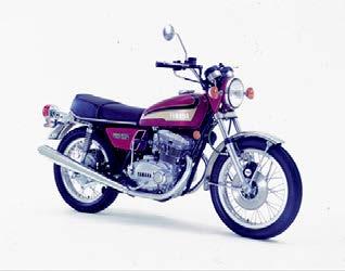 Images : ヤマハ TX500 1973 年 4月