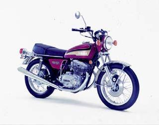 ヤマハ TX500 1973 年 4月